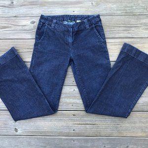 J. Crew Women Jeans Blue Denim Jeans Boot Cut Size